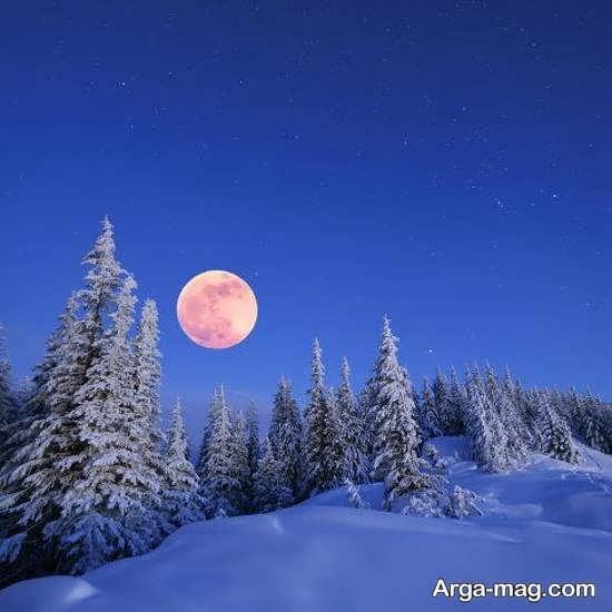 مجموعه منظره زمستانی شگفت انگیز