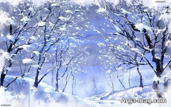 آلبوم جدید از منظره زمستانی