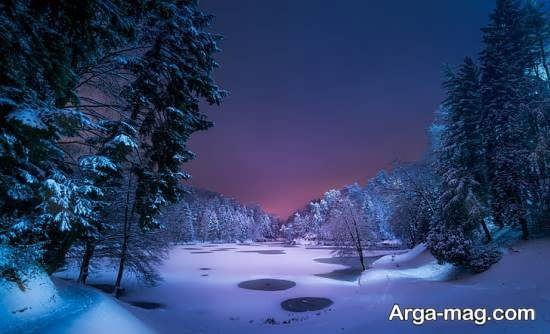 گالری جدید منظره زمستانی