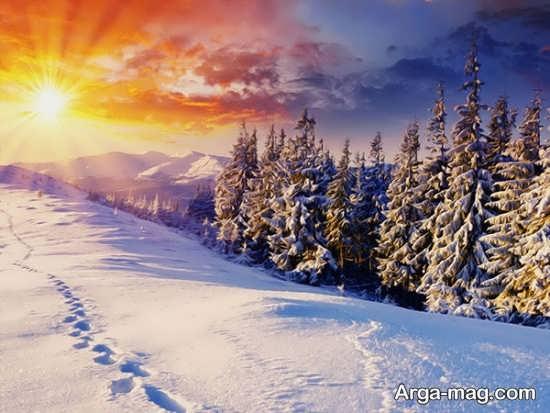 تصویر خیالی و جدید از نمای زمستانی