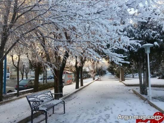 گالری جذاب و تماشایی از نمای زمستانی