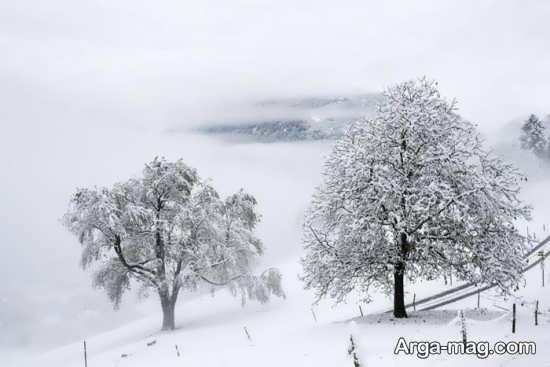 گلچین عکس نمای زمستانی