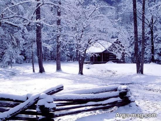 تصویر زیبا و به روز نمای زمستانی