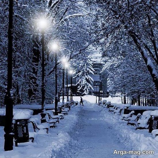 گالری عکس طبیعت زمستانی