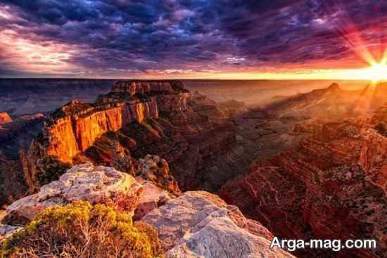 دیدنی های طبیعی آمریکا