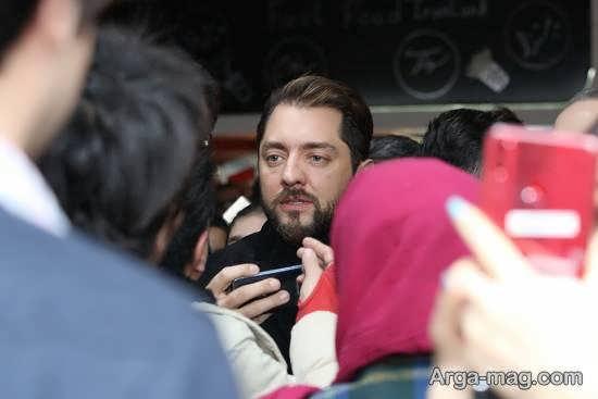 بهرام رادان در اکران مردمی فیلم «سونامی»