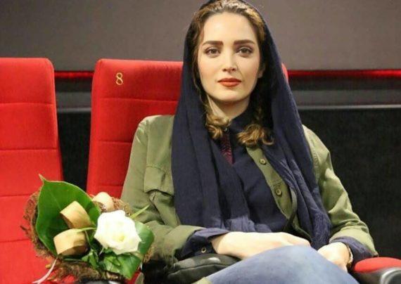 بهنوش طباطبایی بازیگر زیبا و معروف ایرانی