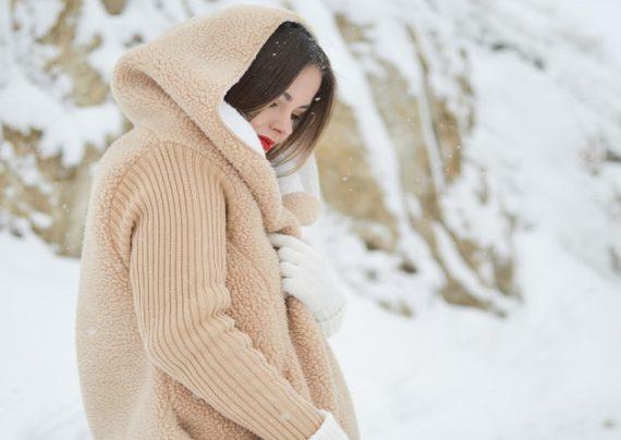 انواع لباس بافت برای استایل زمستانه