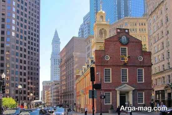 نمای دیدنی بوستون