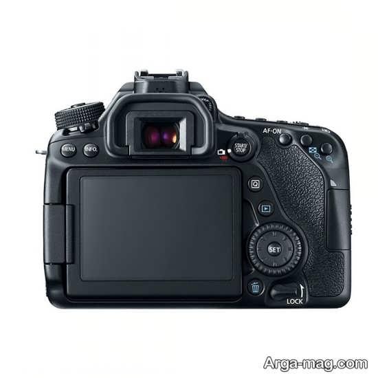 بررسی دوربین کانن 80D و صفحه نمایش ان