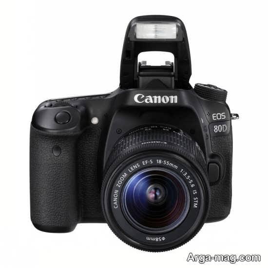 دوربین کانن 80D و حالت های عکاسی این دوربین نیمه حرفه ای