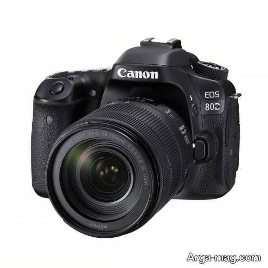 کانن 80D و مشخصات ظاهری این دوربین عالی