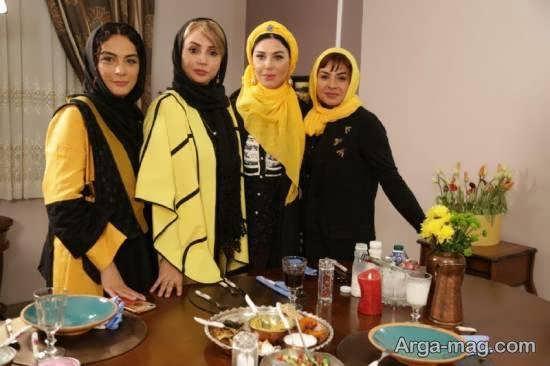 شبنم قلی خانی بازیگر جذاب مهمان جولیا آذربایجانی در باکو