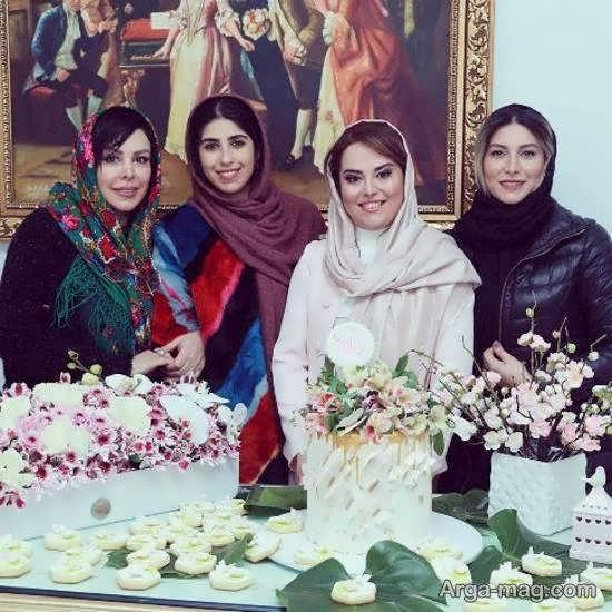 حضور فریبا نادری در جشن تولد دکتر زیبایی اش