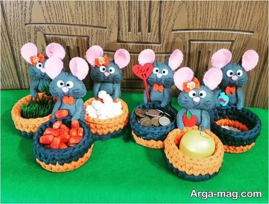 تزیینات هفت سین موش