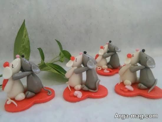 هفت سین با طرح موش
