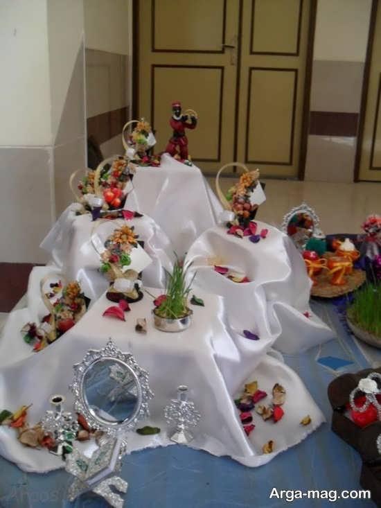 هفت سین زیبا و متفاوت عروس