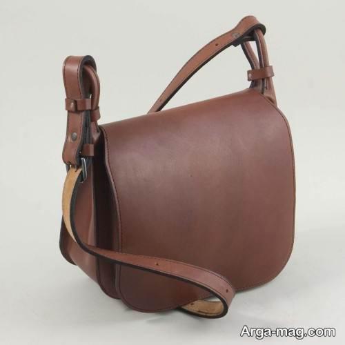 کیف چرم ساده