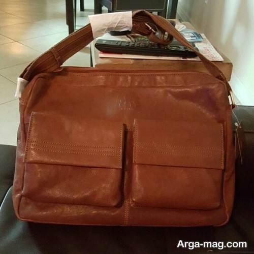 کیف زنانه چرمی ساده