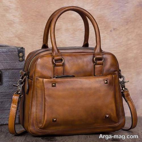 کیف چرم مجلسی زنانه