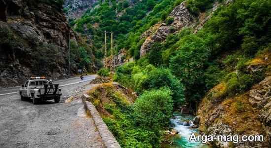 جاده های مهم ایران