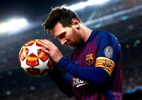لیونل مسی بازیکن فوتبال با استعداد و آقای گل جهان