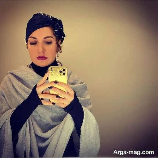 عکس سلفی مهناز افشار با پوشش لاکچری اش