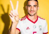 میلاد محمدی بازیکن فوتبال تیم پرسپولیس