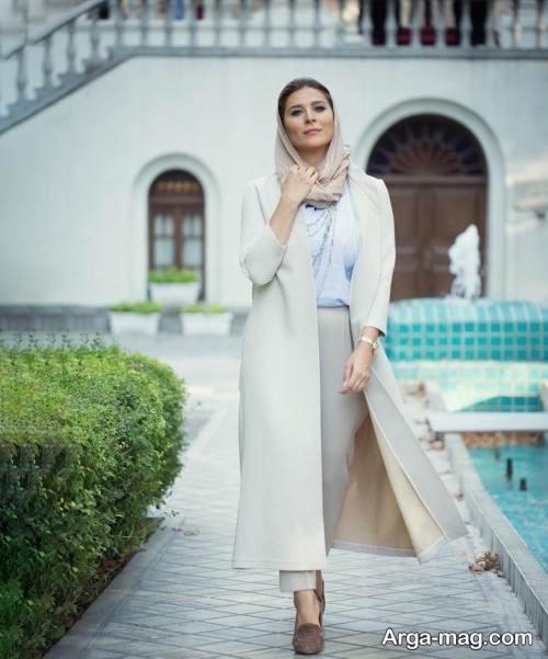 مدل مانتوی سحر دولتشاهی