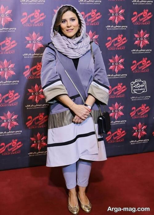 مدل مانتوی اسپرت سحر دولتشاهی