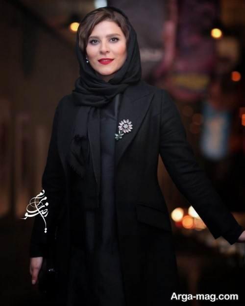 مدل مانتوی رسمی خانم دولتشاهی