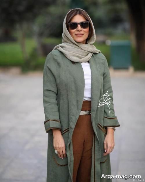 مانتوی شیک سحر دولتشاهی