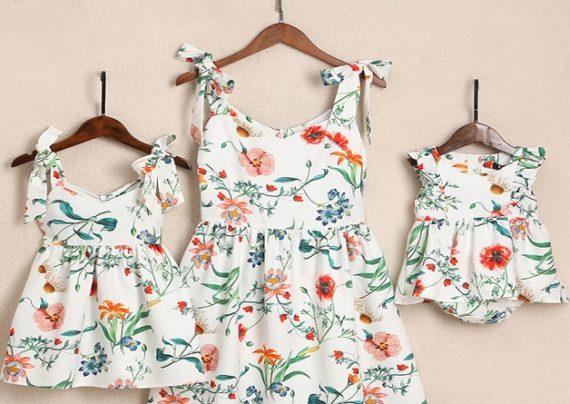 لباس های زیبا برای ست مادر و دختری