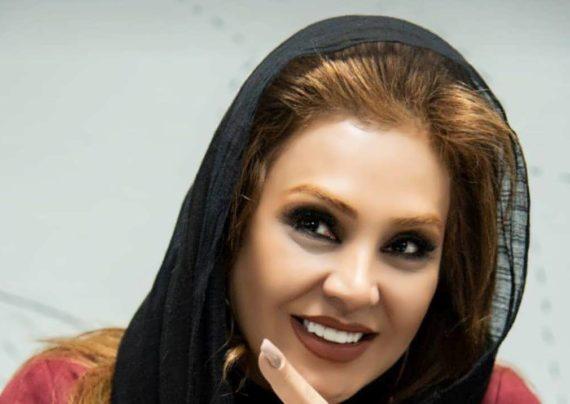 نسرین مقانلو بازیگر با سابقه و فعال سینما و تلویزیون