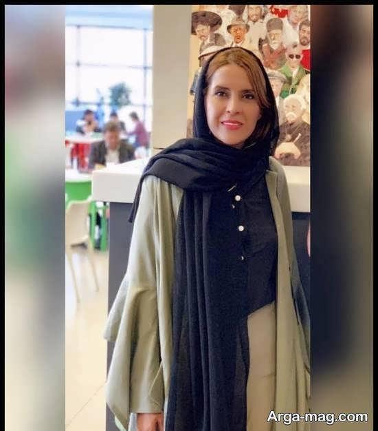 نازنین فراهانی بازیگر نقش مهسا در سریال ملکاوان با پوشش های مختلف