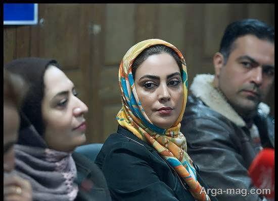 نیلوفر شهیدی در نشست خبری سریال «وارش»