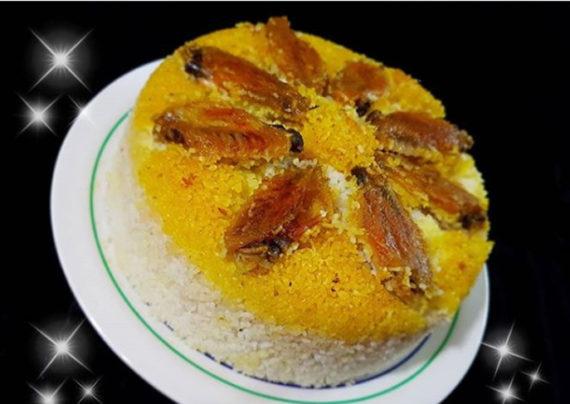طرز تهیه ته دیگ مرغ