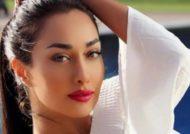 صدف طاهریان بازیگر سابق و مدل معروف در خارج از کشور