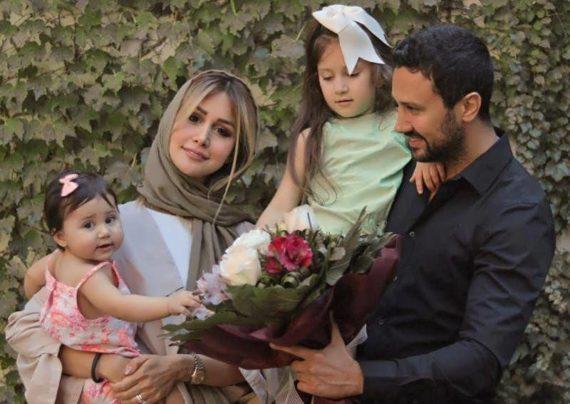 سپیده بزمی پور همسر شاهرخ استخری بازیگر محبوب و معروف ایرانی