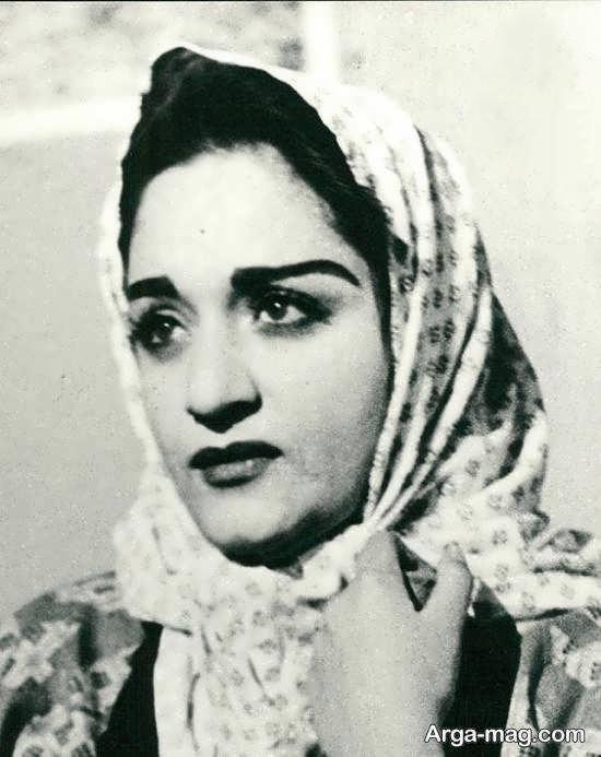 عکس جوانی شهلا ریاحی بازیگر و کارگردان در فیلم دختر چوپان