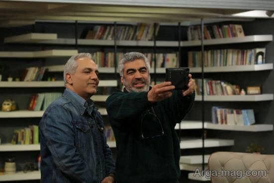 مهران مدیری سروش صحت در «کتاب باز»/عکس