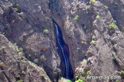 آبشاره دره عشق در اردل