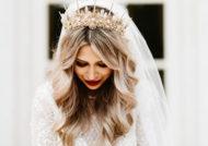 مدل تاج عروس اشرافی