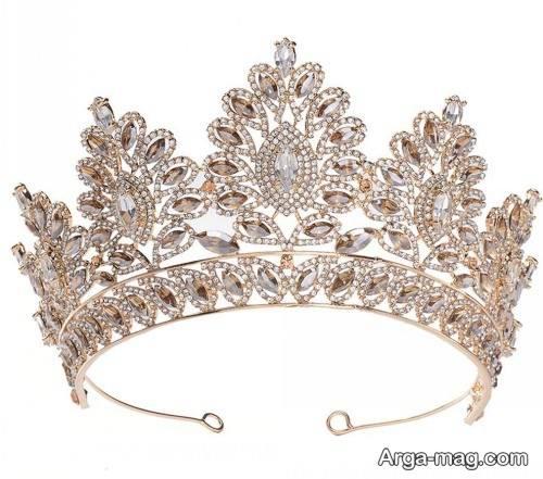 مدل تاج ملکه ای