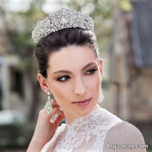 مدل تاج عروس زیبا
