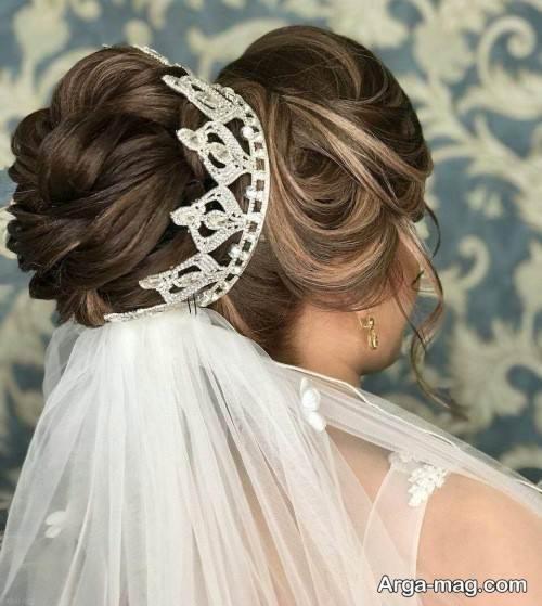 طرح تاج عروس ملکه ای