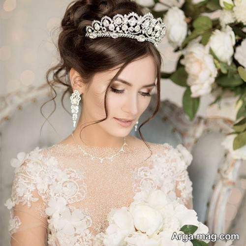 تاج عروس زیبا
