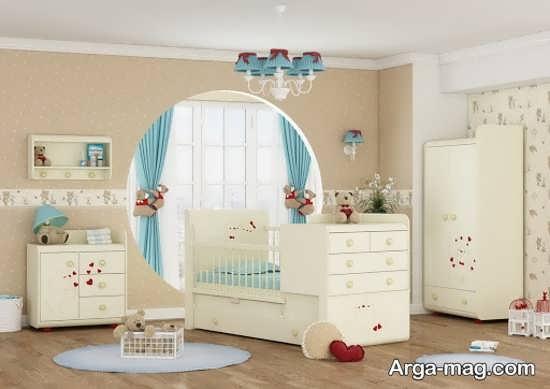 سرویس خواب نوزاد دختر +عکس