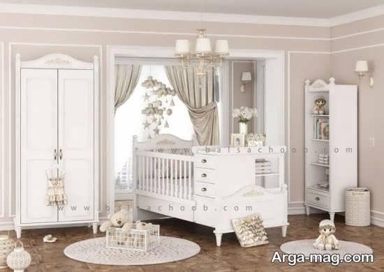 مدل جذاب سرویس خواب نوزادان