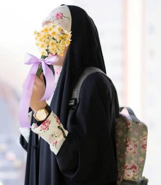 تصویر پروفایل زیبا و تماشایی باحجابی